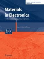 Journal of Materials Science: Materials in Electronics 22/2017