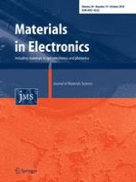 Journal of Materials Science: Materials in Electronics 19/2018