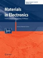 Journal of Materials Science: Materials in Electronics 8/2018