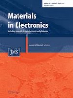 Journal of Materials Science: Materials in Electronics 8/2019