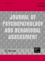Journal of Psychopathology and Behavioral Assessment 3/2006