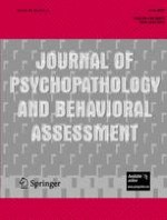 Journal of Psychopathology and Behavioral Assessment 2/2007
