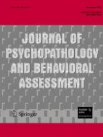 Journal of Psychopathology and Behavioral Assessment 4/2007