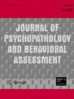 Journal of Psychopathology and Behavioral Assessment 1/2008