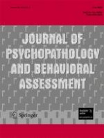 Journal of Psychopathology and Behavioral Assessment 2/2008