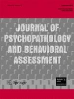 Journal of Psychopathology and Behavioral Assessment 3/2008