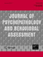 Journal of Psychopathology and Behavioral Assessment 4/2008