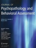 Journal of Psychopathology and Behavioral Assessment 1/2016