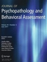 Journal of Psychopathology and Behavioral Assessment 2/2017
