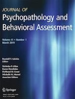 Journal of Psychopathology and Behavioral Assessment 1/2019