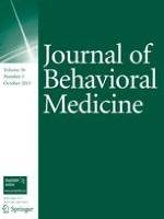 Journal of Behavioral Medicine 1/1998