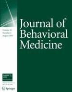 Journal of Behavioral Medicine 4/2005