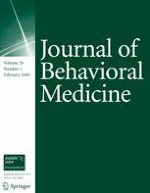 Journal of Behavioral Medicine 1/2006