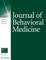 Journal of Behavioral Medicine 2/2006