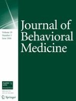 Journal of Behavioral Medicine 3/2006
