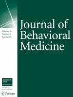 Journal of Behavioral Medicine 2/2007