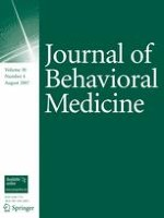 Journal of Behavioral Medicine 4/2007