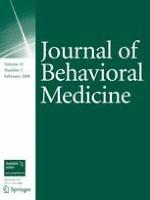 Journal of Behavioral Medicine 1/2008