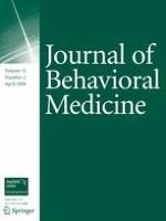Journal of Behavioral Medicine 2/2008