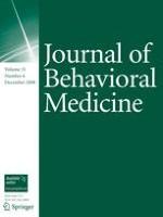 Journal of Behavioral Medicine 6/2008
