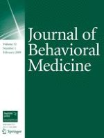 Journal of Behavioral Medicine 1/2009