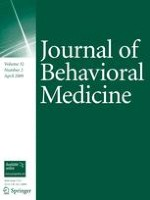 Journal of Behavioral Medicine 2/2009