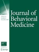 Journal of Behavioral Medicine 6/2009