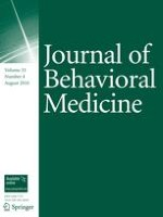 Journal of Behavioral Medicine 4/2010
