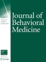 Journal of Behavioral Medicine 5/2010