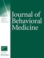Journal of Behavioral Medicine 1/2011
