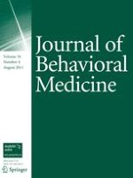 Journal of Behavioral Medicine 4/2011