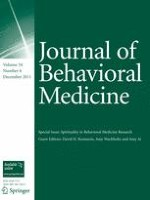 Journal of Behavioral Medicine 6/2011
