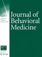 Journal of Behavioral Medicine 1/2012