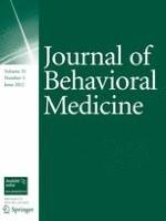 Journal of Behavioral Medicine 3/2012