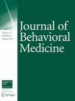 Journal of Behavioral Medicine 4/2012