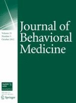 Journal of Behavioral Medicine 5/2012