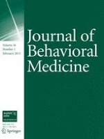 Journal of Behavioral Medicine 1/2013