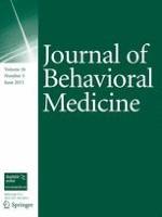 Journal of Behavioral Medicine 3/2013