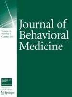 Journal of Behavioral Medicine 5/2013