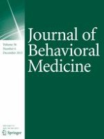 Journal of Behavioral Medicine 6/2013