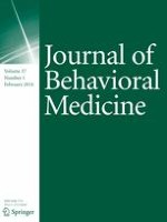 Journal of Behavioral Medicine 1/2014