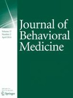 Journal of Behavioral Medicine 2/2014