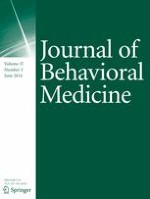 Journal of Behavioral Medicine 3/2014