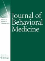 Journal of Behavioral Medicine 6/2014