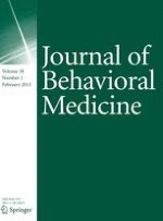 Journal of Behavioral Medicine 1/2015