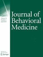 Journal of Behavioral Medicine 2/2015