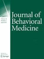 Journal of Behavioral Medicine 2/2015