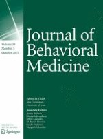Journal of Behavioral Medicine 5/2015
