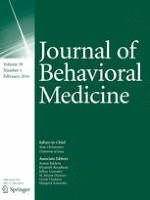 Journal of Behavioral Medicine 1/2016