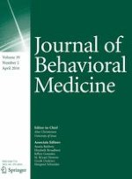 Journal of Behavioral Medicine 2/2016